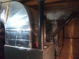 Высокоэффективный газовый воздухонагреватель 90%AFUE Goodman.